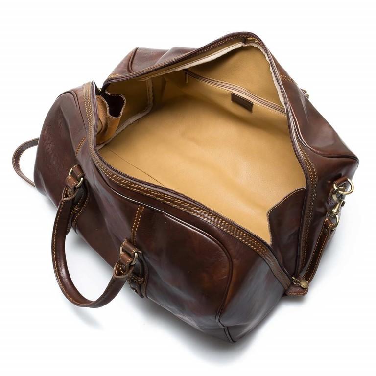 Assima Reisetasche Vacchettaleder Braun, Farbe: braun, Marke: Assima, Abmessungen in cm: 50.0x30.0x28.0, Bild 3 von 3