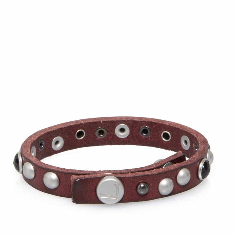 LIEBESKIND LKB 216 Armband Pink, Farbe: rot/weinrot, Manufacturer: Liebeskind Berlin, EAN: 4051436854107, Image 1 of 1