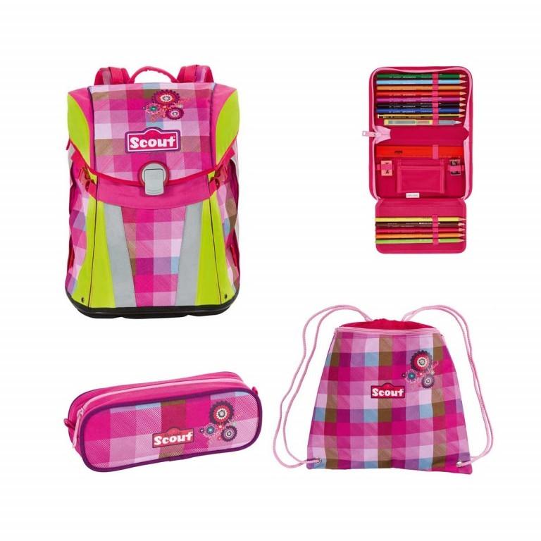 Scout Sunny Set 4-tlg. Flowery Island, Farbe: rosa/pink, Marke: Scout, Abmessungen in cm: 30.0x39.0x20.0, Bild 1 von 9