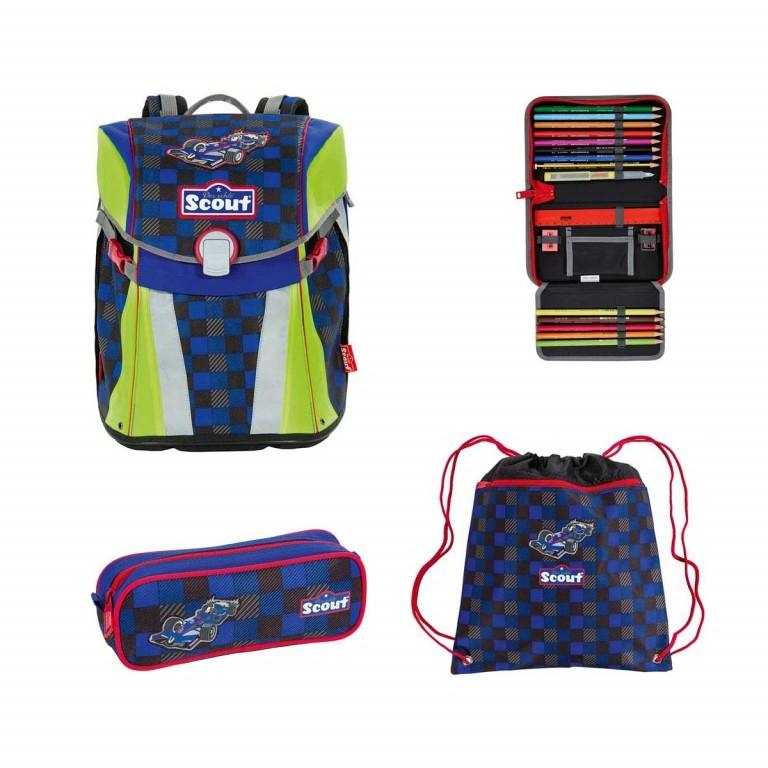 Scout Sunny Set 4-tlg. Runner, Farbe: schwarz, grau, blau/petrol, Marke: Scout, Abmessungen in cm: 30.0x39.0x20.0, Bild 1 von 9