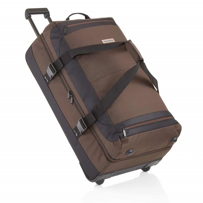 Travelite Basic Doppeldeckertrolley Reisetasche 94l 78cm Braun, Farbe: braun, Marke: Travelite, Abmessungen in cm: 40.0x78.0x30.0, Bild 1 von 2