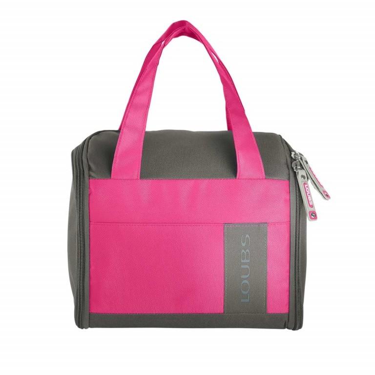 Loubs Kulturtasche Mountain Pink, Farbe: rosa/pink, Marke: Loubs, Abmessungen in cm: 27.0x22.0x12.0, Bild 1 von 3