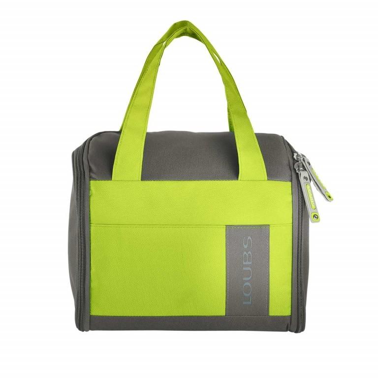 Loubs Kulturtasche Mountain Grün, Farbe: grün/oliv, Marke: Loubs, Abmessungen in cm: 27.0x22.0x12.0, Bild 1 von 3