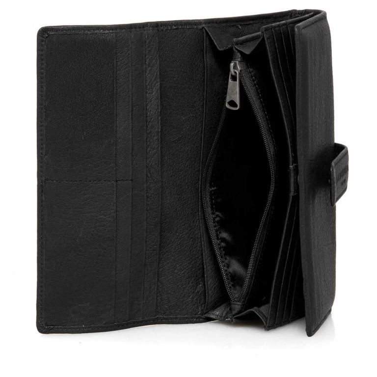 LIEBESKIND Vintage Leonie 6 Börse Black, Farbe: schwarz, Marke: Liebeskind Berlin, EAN: 4051436837728, Abmessungen in cm: 19.0x9.5x3.5, Bild 2 von 4