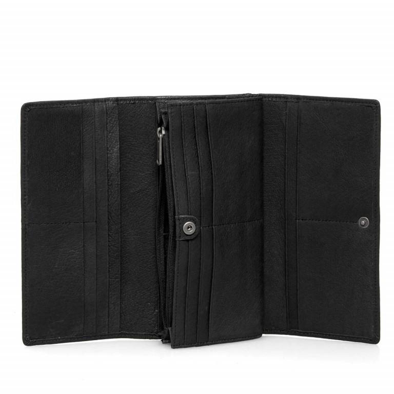 LIEBESKIND Vintage Leonie 6 Börse Black, Farbe: schwarz, Marke: Liebeskind Berlin, EAN: 4051436837728, Abmessungen in cm: 19.0x9.5x3.5, Bild 3 von 4