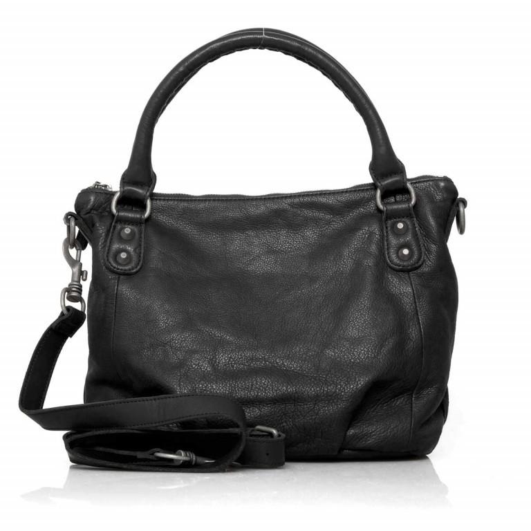LIEBESKIND Vintage Gina 6 Shopper Black, Farbe: schwarz, Marke: Liebeskind Berlin, EAN: 4051436837506, Abmessungen in cm: 33.0x25.0x12.0, Bild 4 von 4