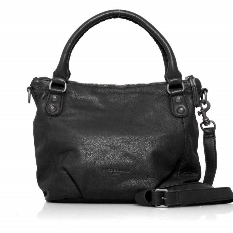 LIEBESKIND Vintage Gina 6 Shopper Black, Farbe: schwarz, Marke: Liebeskind Berlin, EAN: 4051436837506, Abmessungen in cm: 33.0x25.0x12.0, Bild 1 von 4