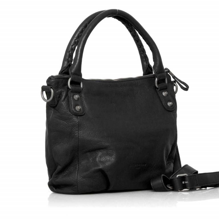 LIEBESKIND Vintage Gina 6 Shopper Black, Farbe: schwarz, Marke: Liebeskind Berlin, EAN: 4051436837506, Abmessungen in cm: 33.0x25.0x12.0, Bild 2 von 4