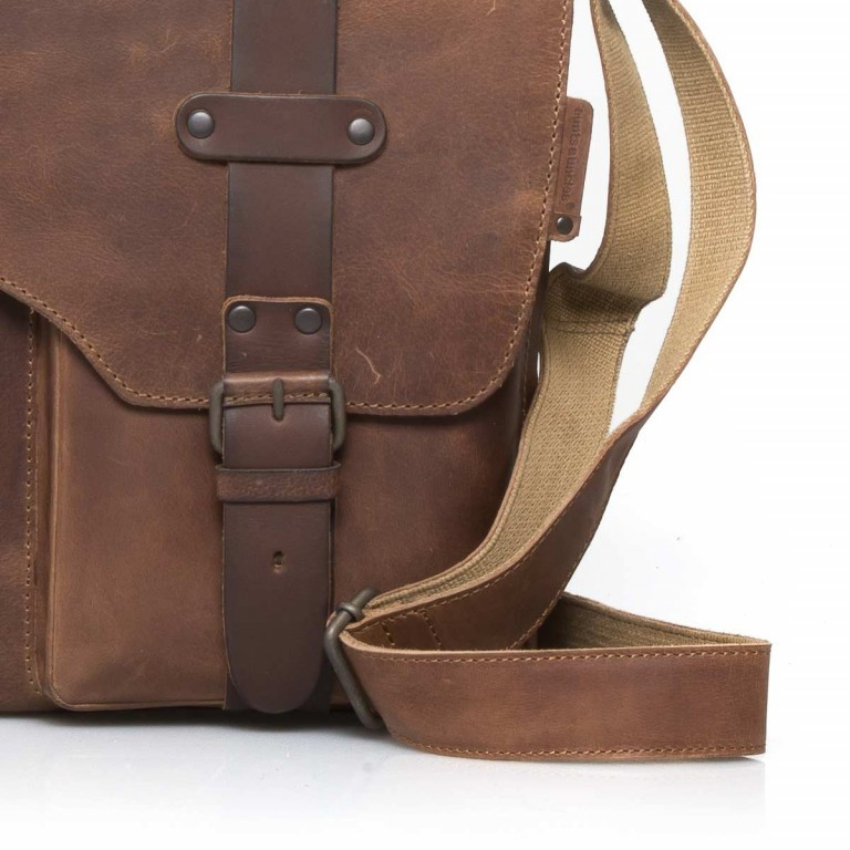 Aunts & Uncles Hunter Dexter Leder Vintage Tan, Farbe: cognac, Marke: Aunts & Uncles, Abmessungen in cm: 26.0x31.0x7.0, Bild 5 von 5