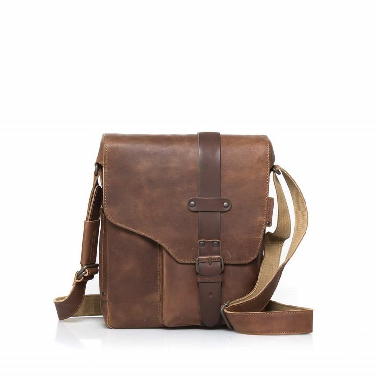 Aunts & Uncles Hunter Dexter Leder Vintage Tan, Farbe: cognac, Marke: Aunts & Uncles, Abmessungen in cm: 26.0x31.0x7.0, Bild 1 von 5
