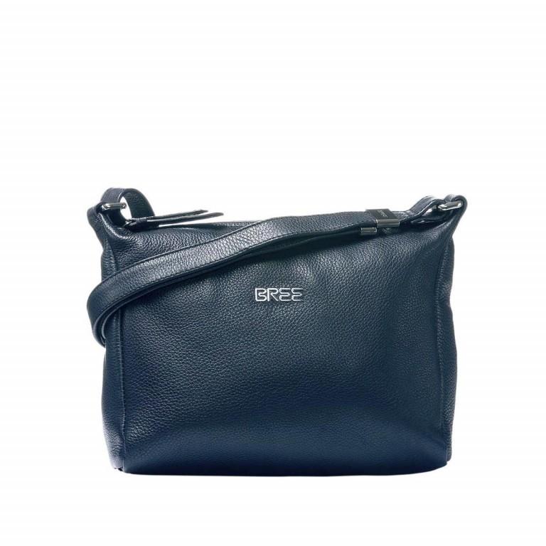 BREE Nola 2 Handtasche Leder Dunkelblau, Farbe: blau/petrol, Marke: Bree, Abmessungen in cm: 26.0x20.0x7.0, Bild 1 von 1