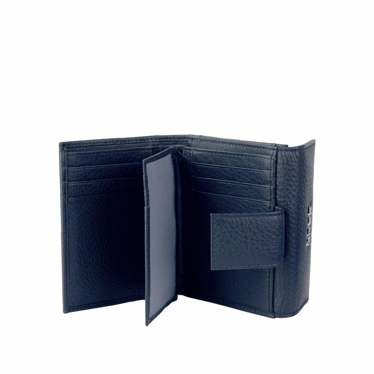 BREE Nola 104 Damenbörse Leder  Dunkelblau, Farbe: blau/petrol, Marke: Bree, Abmessungen in cm: 12.0x9.0x3.0, Bild 2 von 2