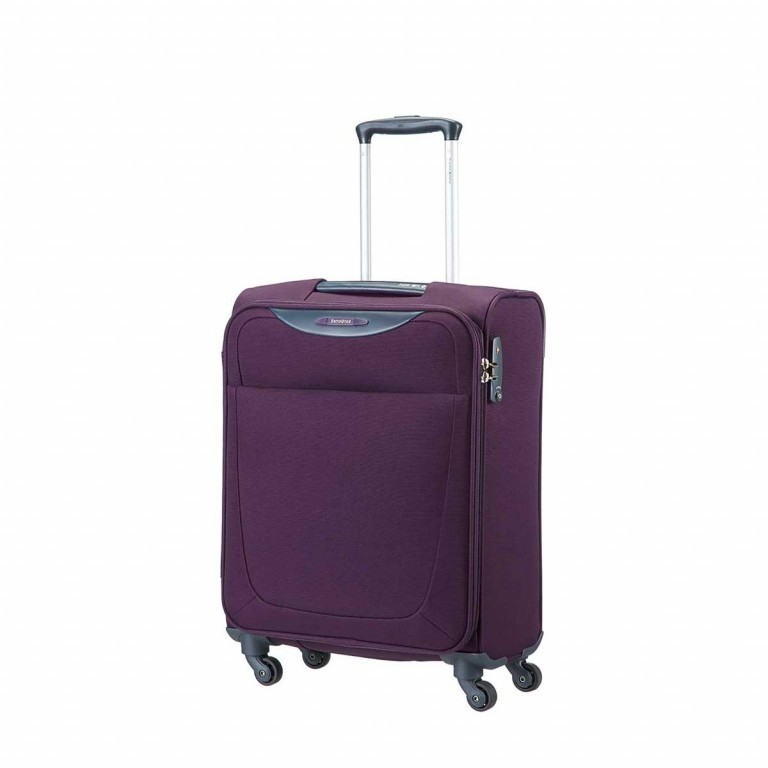 Samsonite Koffer/Trolley Base Hits 59143 Spinner 55 Purple, Farbe: flieder/lila, Marke: Samsonite, Abmessungen in cm: 40.0x55.0x20.0, Bild 1 von 6