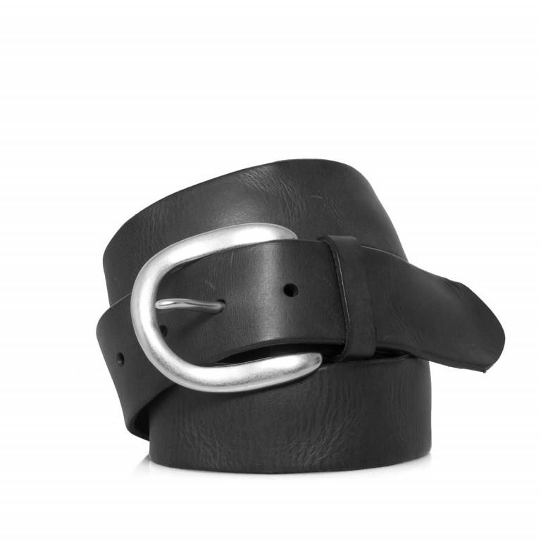 LIEBESKIND Vintage LKB 501 Gürtel 85cm Black, Farbe: schwarz, Marke: Liebeskind Berlin, EAN: 4051436852790, Abmessungen in cm: 100.0x3.5, Bild 1 von 1