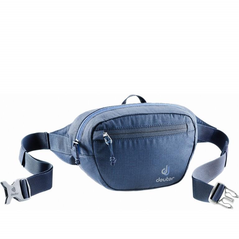 Deuter Organizer Belt Hüfttasche Midnight, Farbe: blau/petrol, Marke: Deuter, EAN: 4046051095707, Abmessungen in cm: 23.0x14.0x6.0, Bild 1 von 2