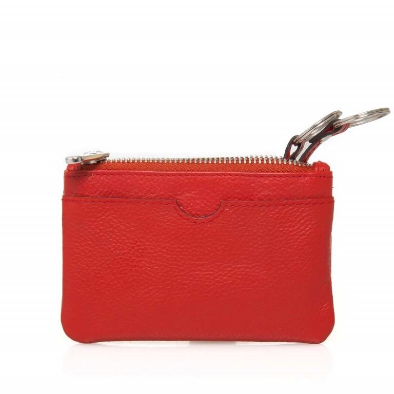 BREE Sofia 100 Schlüsseletui Leder Rot, Farbe: rot/weinrot, Marke: Bree, Abmessungen in cm: 11.5x7.5x1.5, Bild 3 von 3
