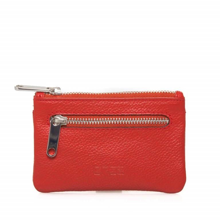 BREE Sofia 100 Schlüsseletui Leder Rot, Farbe: rot/weinrot, Marke: Bree, Abmessungen in cm: 11.5x7.5x1.5, Bild 1 von 3