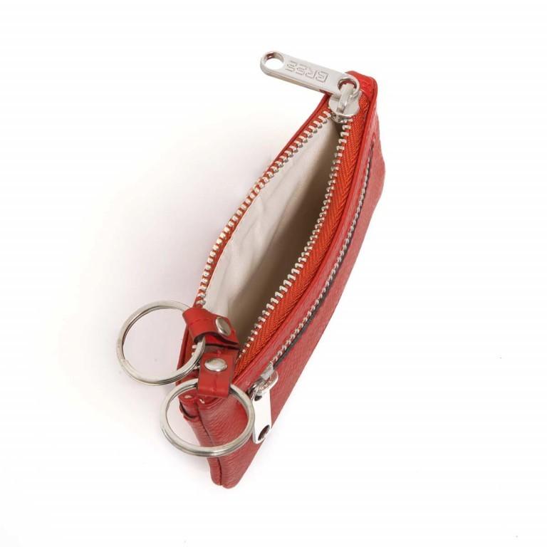 BREE Sofia 100 Schlüsseletui Leder Rot, Farbe: rot/weinrot, Marke: Bree, Abmessungen in cm: 11.5x7.5x1.5, Bild 2 von 3