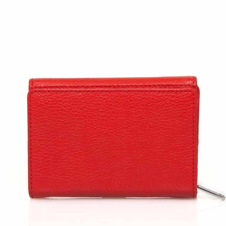 BREE Sofia 108 Reißverschlussbörse Leder Rot, Farbe: rot/weinrot, Marke: Bree, Abmessungen in cm: 14.0x9.5x3.0, Bild 4 von 4