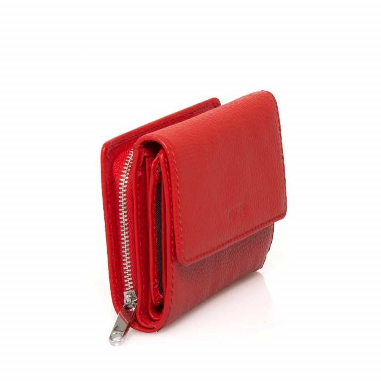 BREE Sofia 108 Reißverschlussbörse Leder Rot, Farbe: rot/weinrot, Marke: Bree, Abmessungen in cm: 14.0x9.5x3.0, Bild 2 von 4