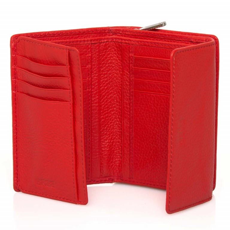 BREE Sofia 108 Reißverschlussbörse Leder Rot, Farbe: rot/weinrot, Marke: Bree, Abmessungen in cm: 14.0x9.5x3.0, Bild 3 von 4