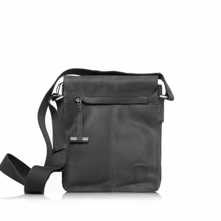 Strellson Richmond Messenger S Black, Farbe: schwarz, Marke: Strellson, EAN: 4053533065134, Abmessungen in cm: 20.0x23.0x6.0, Bild 3 von 5
