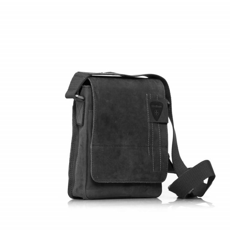 Strellson Richmond Messenger S Black, Farbe: schwarz, Marke: Strellson, EAN: 4053533065134, Abmessungen in cm: 20.0x23.0x6.0, Bild 2 von 5