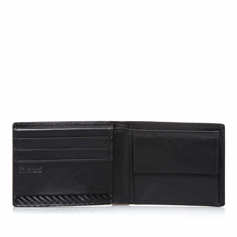 Samsonite S-Derry 57648 Scheintasche Black, Farbe: schwarz, Marke: Samsonite, Abmessungen in cm: 12.0x10.0x2.5, Bild 3 von 5