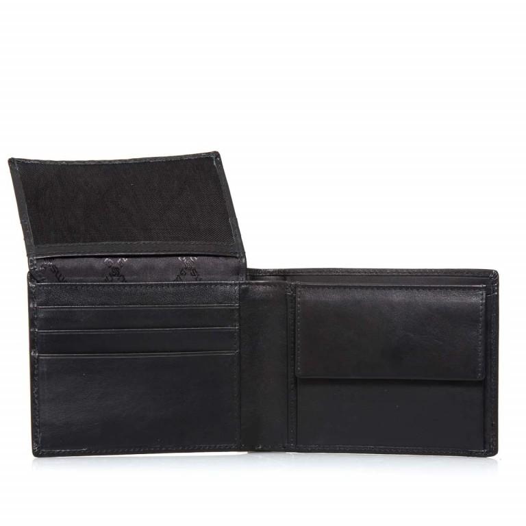 Samsonite S-Derry 57648 Scheintasche Black, Farbe: schwarz, Marke: Samsonite, Abmessungen in cm: 12.0x10.0x2.5, Bild 4 von 5