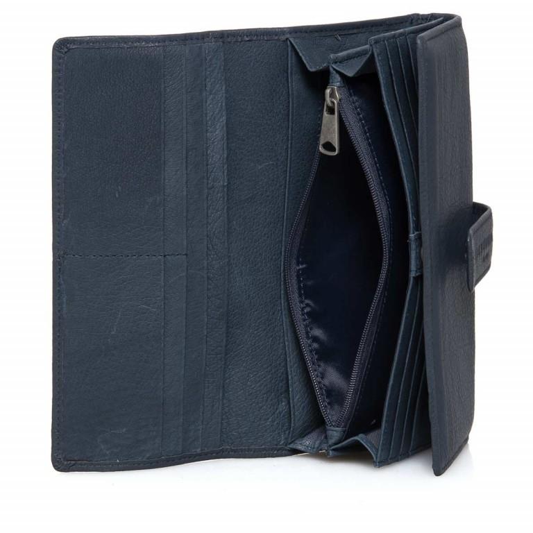LIEBESKIND Vintage Leonie 6 Börse Dark Blue, Farbe: blau/petrol, Manufacturer: Liebeskind Berlin, EAN: 4051436837759, Dimensions (cm): 19.0x9.5x3.5, Image 2 of 4