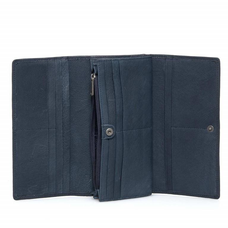 LIEBESKIND Vintage Leonie 6 Börse Dark Blue, Farbe: blau/petrol, Marke: Liebeskind Berlin, EAN: 4051436837759, Abmessungen in cm: 19.0x9.5x3.5, Bild 3 von 4