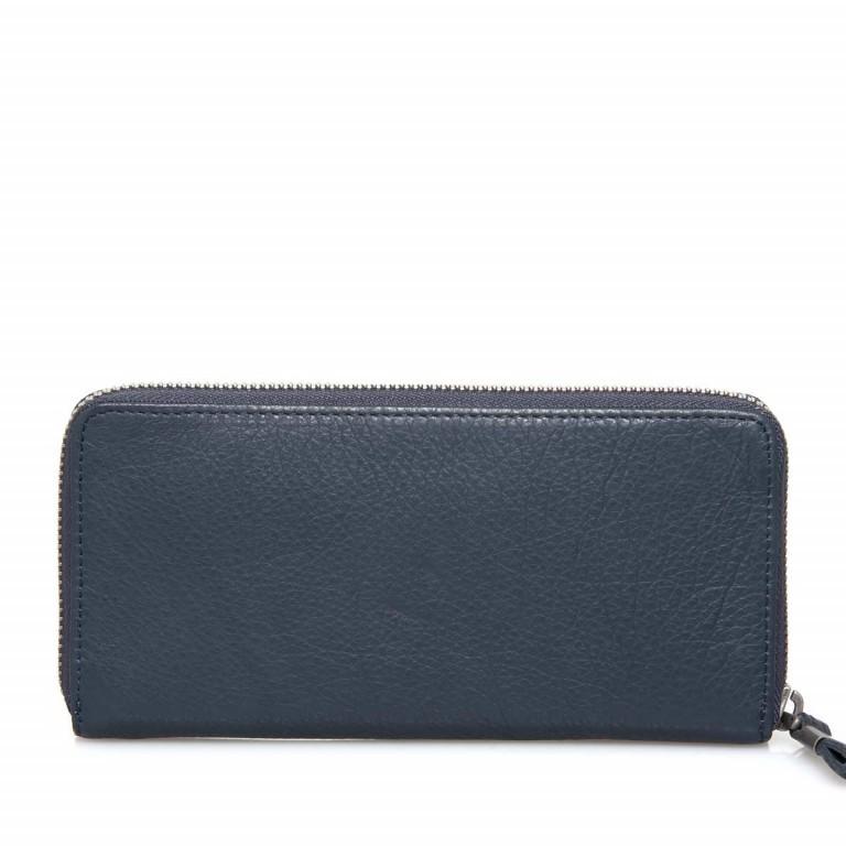 LIEBESKIND Vintage Sally 6 Börse Dark Blue, Farbe: blau/petrol, Marke: Liebeskind Berlin, EAN: 4051436837957, Abmessungen in cm: 20.0x10.0x2.5, Bild 3 von 3