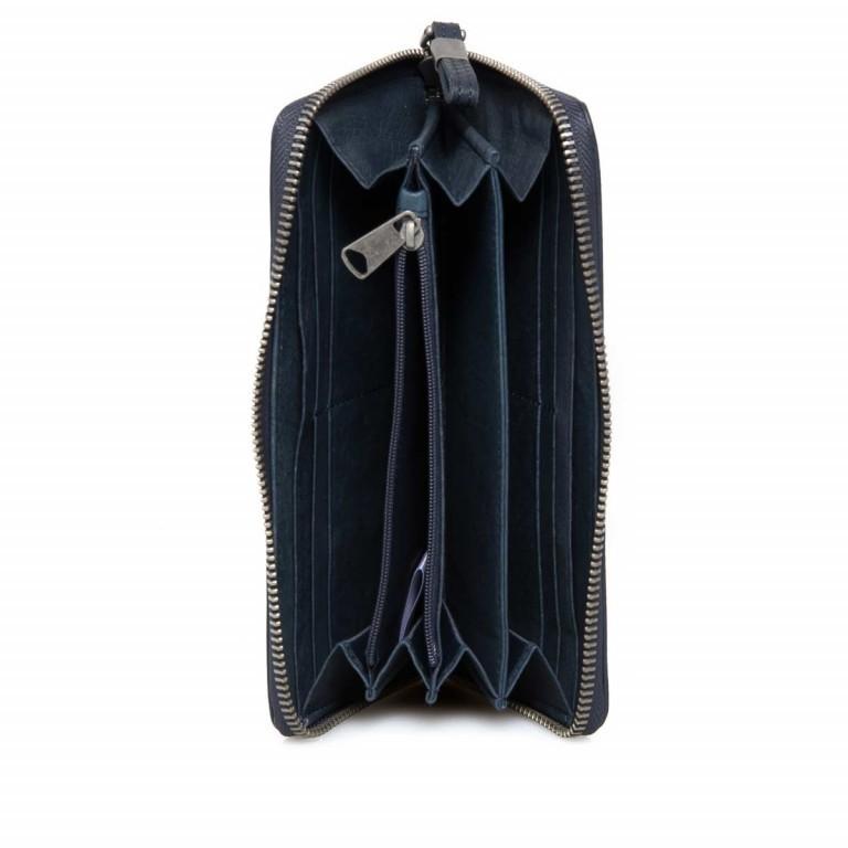 LIEBESKIND Vintage Sally 6 Börse Dark Blue, Farbe: blau/petrol, Marke: Liebeskind Berlin, EAN: 4051436837957, Abmessungen in cm: 20.0x10.0x2.5, Bild 2 von 3