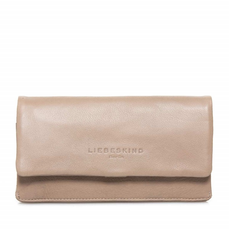 LIEBESKIND Vintage Slam 6 Börse Stone, Farbe: taupe/khaki, Manufacturer: Liebeskind Berlin, EAN: 4051436838008, Dimensions (cm): 18.5x10.0x3.0, Image 1 of 3