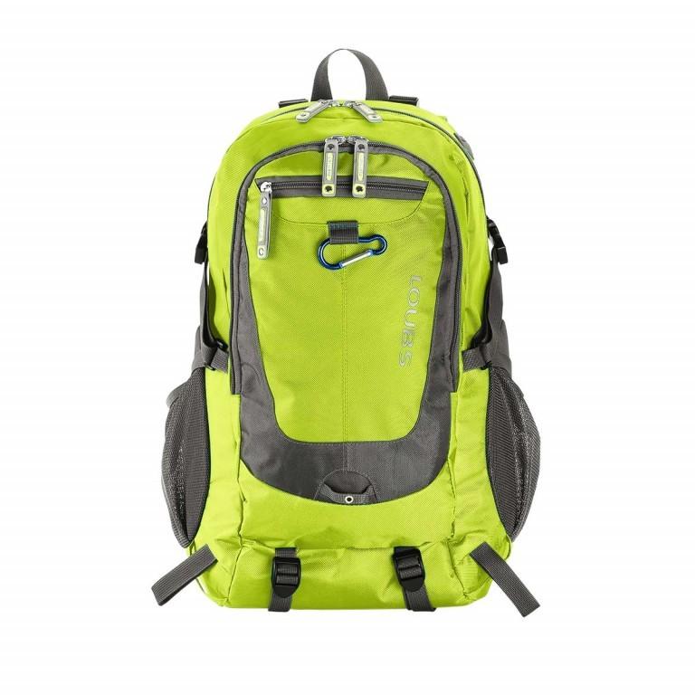 Loubs Rucksack Mountain Grün, Farbe: grün/oliv, Marke: Loubs, Abmessungen in cm: 28.0x46.0x21.0, Bild 1 von 4