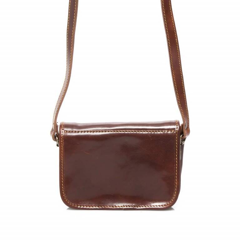 Assima Handtasche Überschlag Vacchettaleder S Cognac, Farbe: cognac, Marke: Assima, Abmessungen in cm: 21.0x15.0x10.0, Bild 3 von 4
