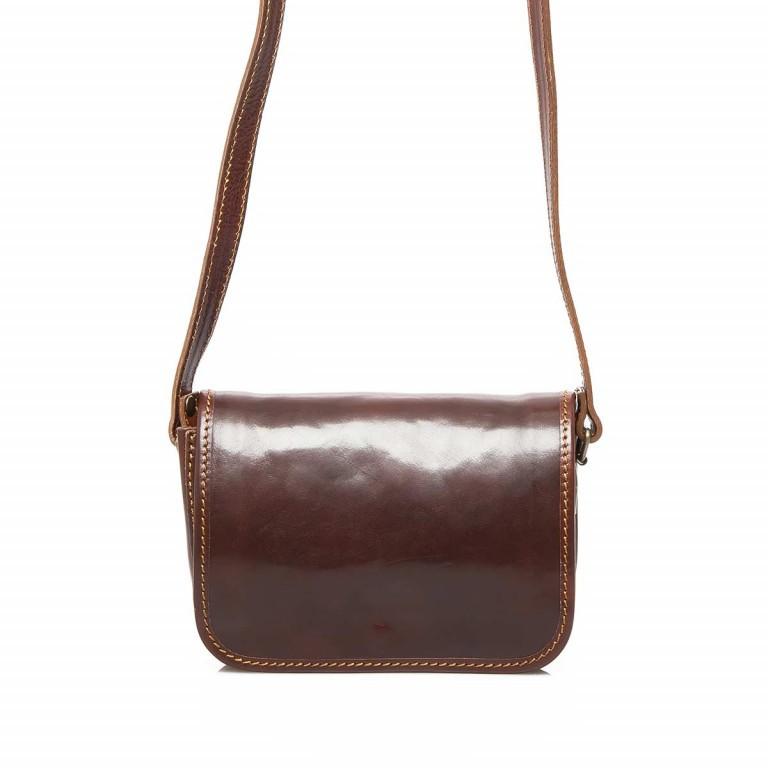 Assima Handtasche Überschlag Vacchettaleder S Cognac, Farbe: cognac, Marke: Assima, Abmessungen in cm: 21.0x15.0x10.0, Bild 1 von 4