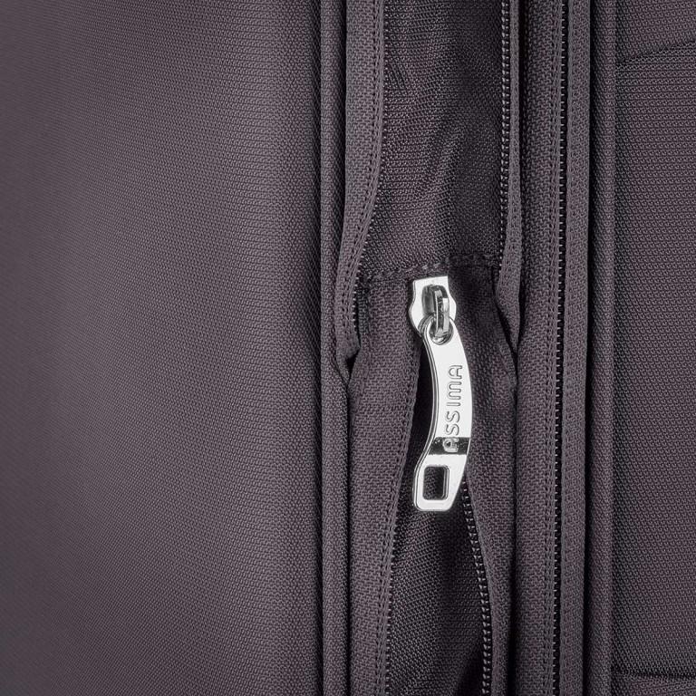 Assima Trolley 4-Rollen Softair 80cm Dunkelgrau, Farbe: grau, Manufacturer: Assima, Dimensions (cm): 48.0x80.0x33.0, Image 4 of 5