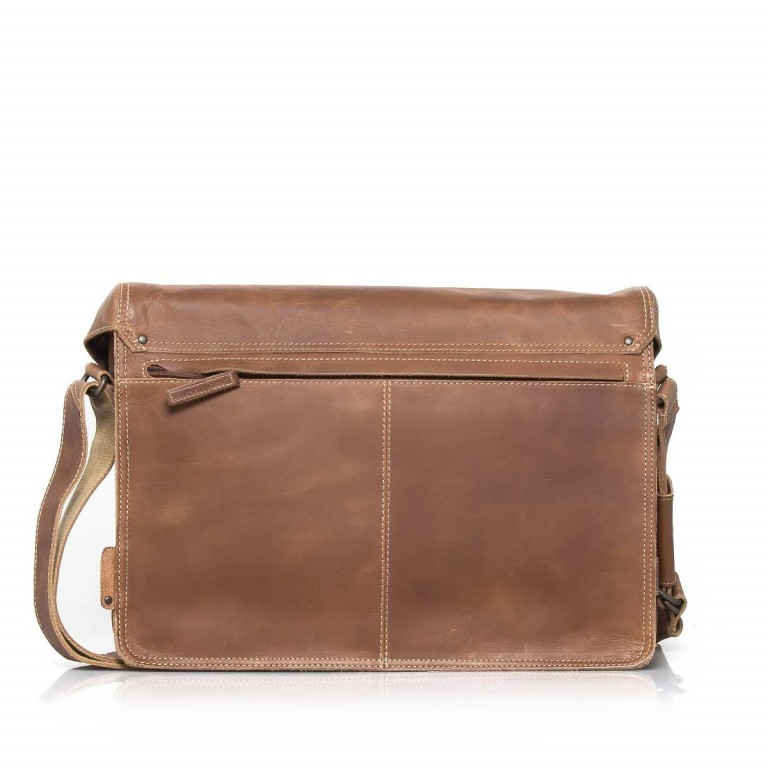 Aunts & Uncles Hunter Big Jordan Leder Vintage Tan, Farbe: cognac, Marke: Aunts & Uncles, Abmessungen in cm: 40.0x30.0x12.0, Bild 2 von 4
