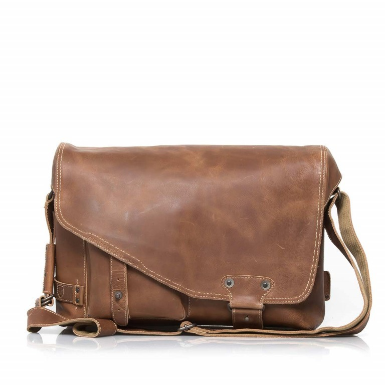 Aunts & Uncles Hunter Big Jordan Leder Vintage Tan, Farbe: cognac, Marke: Aunts & Uncles, Abmessungen in cm: 40.0x30.0x12.0, Bild 1 von 4