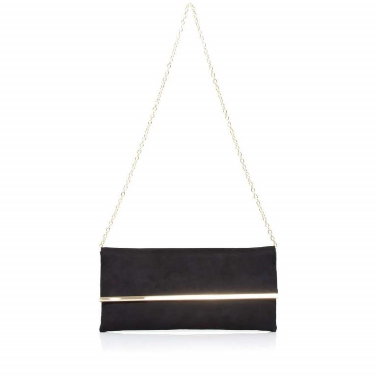 Menbur Clutch Velours Schwarz, Farbe: schwarz, Marke: Menbur, Abmessungen in cm: 31.0x14.0x3.0, Bild 2 von 4