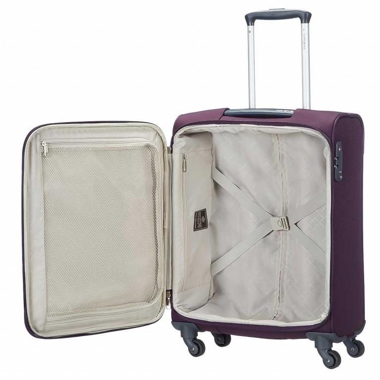 Samsonite Koffer/Trolley Base Hits 59143 Spinner 55 Purple, Farbe: flieder/lila, Marke: Samsonite, Abmessungen in cm: 40.0x55.0x20.0, Bild 2 von 6