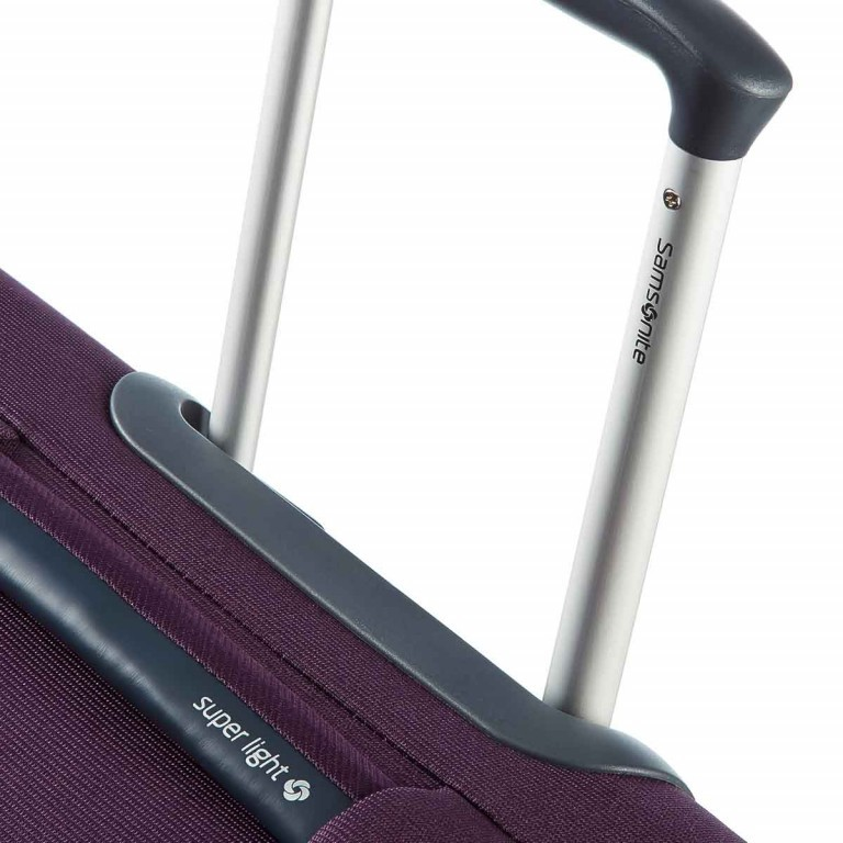 Samsonite Koffer/Trolley Base Hits 59143 Spinner 55 Purple, Farbe: flieder/lila, Marke: Samsonite, Abmessungen in cm: 40.0x55.0x20.0, Bild 3 von 6