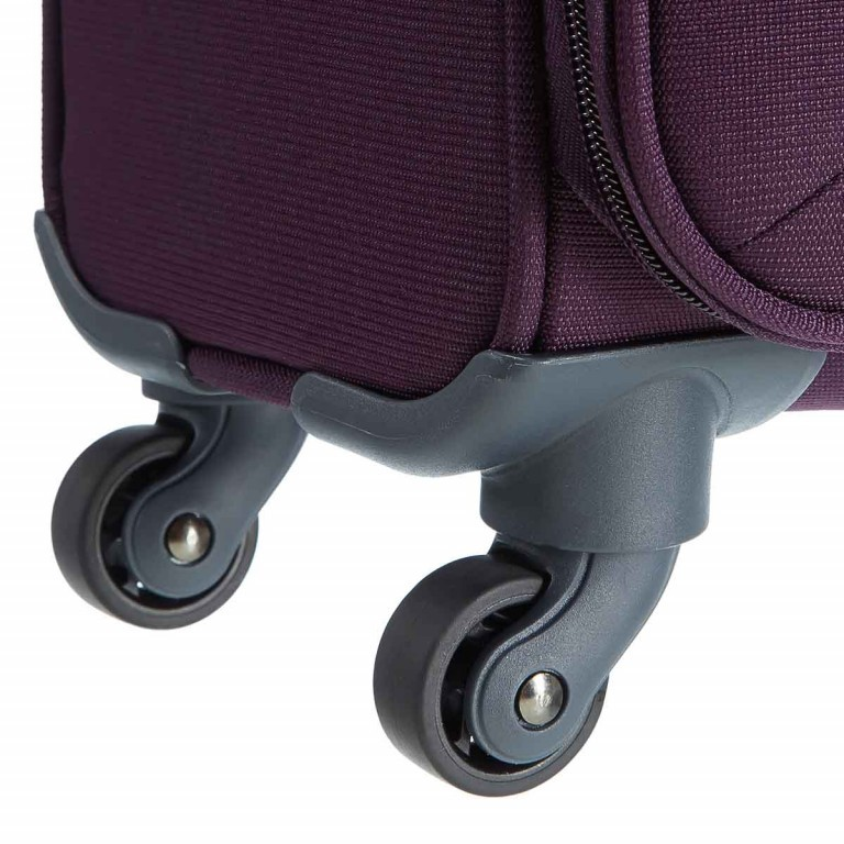 Samsonite Koffer/Trolley Base Hits 59143 Spinner 55 Purple, Farbe: flieder/lila, Marke: Samsonite, Abmessungen in cm: 40.0x55.0x20.0, Bild 4 von 6