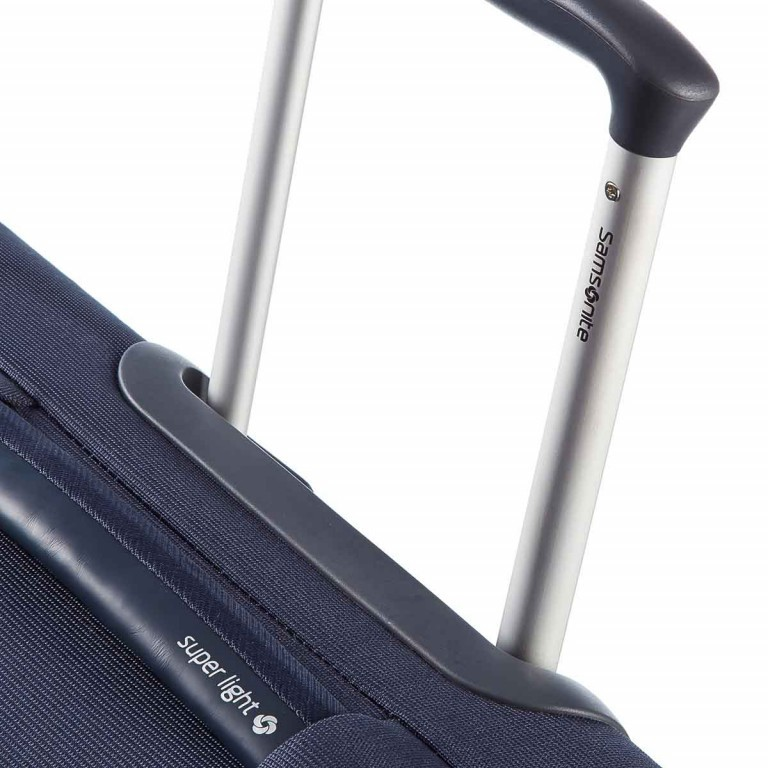 Samsonite Base Hits 59144 Spinner 66 Expandable Navy Blue, Farbe: blau/petrol, Marke: Samsonite, Bild 3 von 6