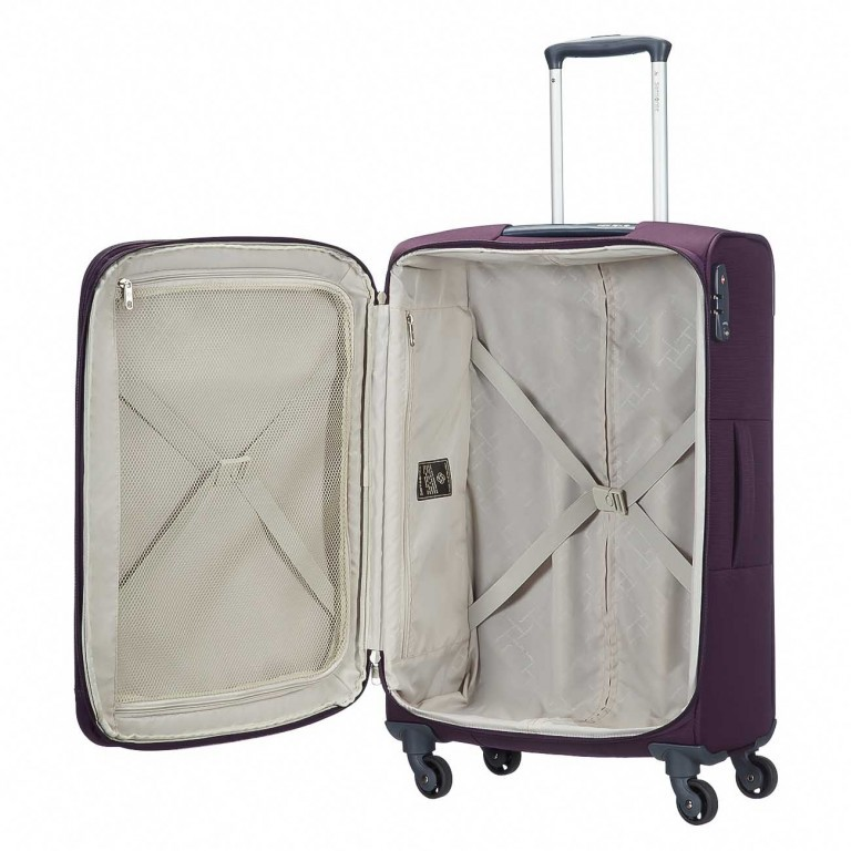 Samsonite Base Hits 59144 Spinner 66 Expandable Purple, Farbe: flieder/lila, Manufacturer: Samsonite, Image 2 of 6