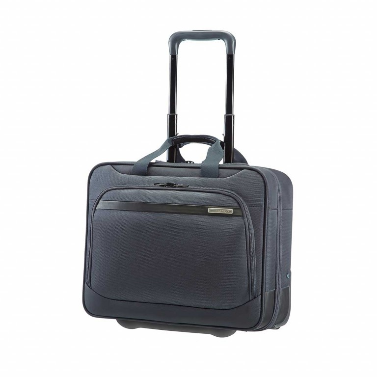 "Samsonite Vectura 59227 Office Case Wheel 15.6"" Sea Grey, Farbe: grau, Manufacturer: Samsonite, Dimensions (cm): 42.5x36.0x19.0, Image 1 of 7"