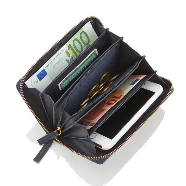 HJP Geldbörse Roma Schwarz, Farbe: schwarz, Marke: Hausfelder, Abmessungen in cm: 18.0x10.5x2.0, Bild 3 von 4
