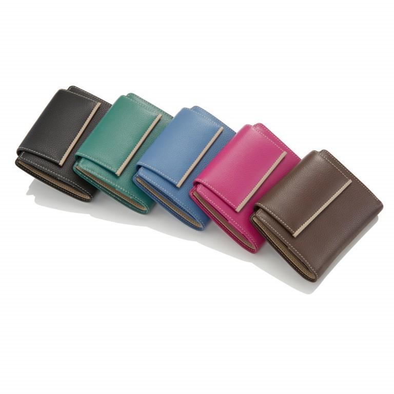 HJP Geldbörse Tinta Schwarz, Farbe: schwarz, Marke: Hausfelder, Abmessungen in cm: 13.0x10.5x2.0, Bild 6 von 6