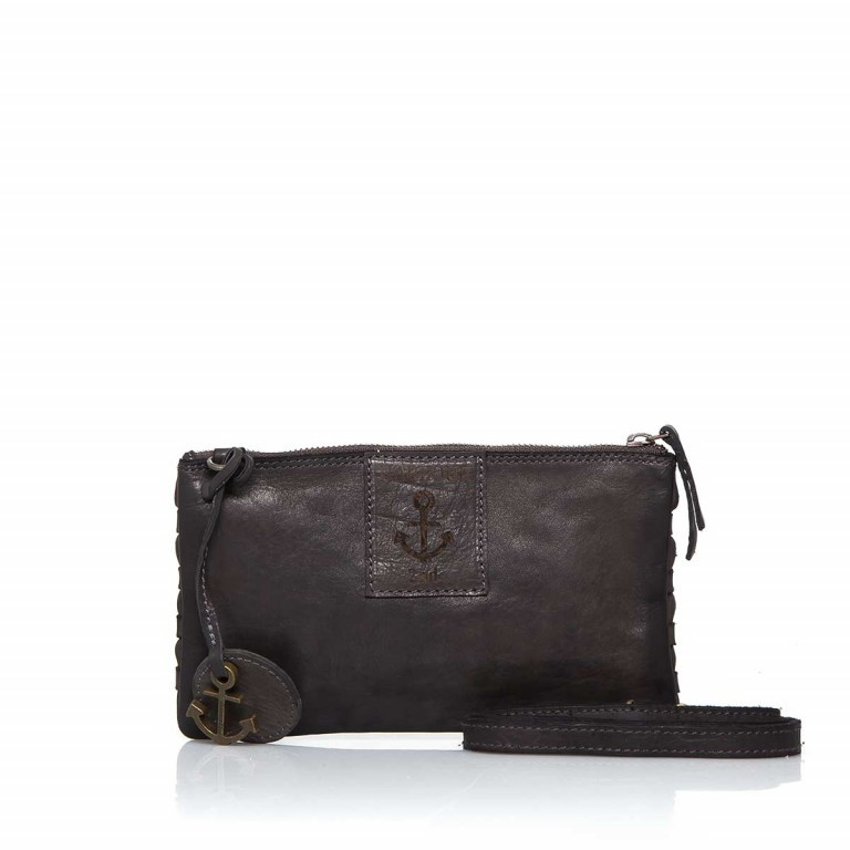 HARBOUR2nd Clutch Lillen Dark Ash, Farbe: anthrazit, Marke: Harbour 2nd, Abmessungen in cm: 23.0x13.0x2.0, Bild 2 von 3